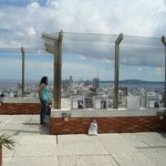 No alto do mirador...