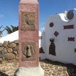 Esculturas en el jardin de cactus