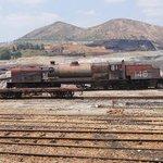Vistas desde tren minero