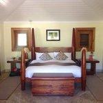 Sleepy Cay -- our room