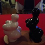 Salt and pepper shakers..