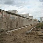 The ugly wall before the reunification