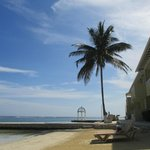Beachfront walkout rooms