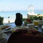 Trip highlight: having breakfast brought to the room!