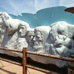 Mount Rushmore replica