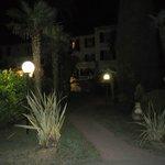 L'hotel visto dal giardino