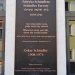 Frente de la fábrica de Oscar Schindler