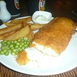 Fish and Chips on Friday nights - excellent value for your money