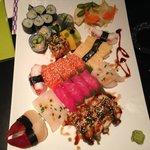 """Familje sushi"" - it's customizable!"