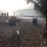 The beach at Royal Palms