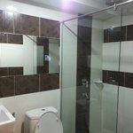 Renovated clean bathroom