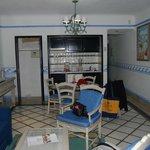 kitchen area of a one bedroom junior suite