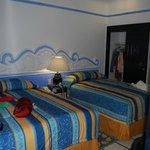 Bedroom for a one bedroom junior suite