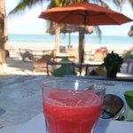 Watermelon juice/ breakfast