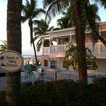 Cute buildings and falling coconuts - classic Florida Keys.