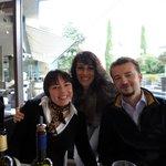 Cousins who live in Lugano!