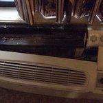 broken heater.