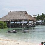 Lagoon side restaurant