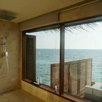 shower with a view!