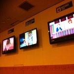TV in the common area