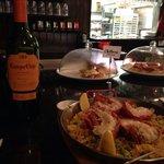 Divine lobster paella