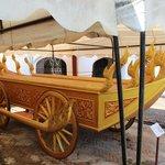Royal shrine chariot