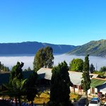 View from the top of Bromo Permai hotel