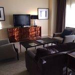 Living Room in the Fazio Suite.