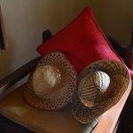 Sweet straw hat