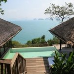 View from Villa 40 at Six Senses, Yao Noi