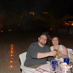 private candlelight dinner on the beach