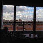 Blick aus unserem Zimmer 826