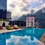Roof top pool with an amazing view