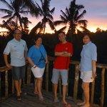 Sunset at Tegalalang
