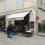 entrée du restaurant dans la Grand Rue
