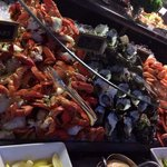 Beautiful seafood