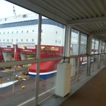 Boarding Gabriella