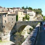 le pont romain à Vaison