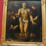 Pinturas na Pinacoteca (foto por eu mesmo).