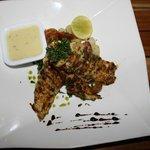 Yummy snapper fish