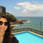 vista do hotel para o mar