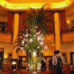 Beatuiful lobby area