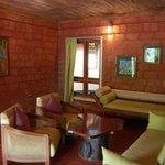 sitting room of cottage 302