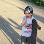 Just a cute kid