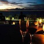 The Rock Bar: Breathtaking sunset