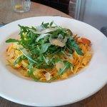 Fettucine, butternut squash & pecorino cheese