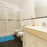 Clean and spacious shared bathroom
