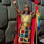 Inca reenactor