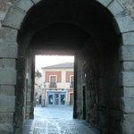 Вход в исторический центр