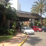 The front of Estepona Palace Hotel